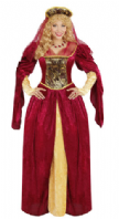 Royal Medieval Queen Costume (05594)